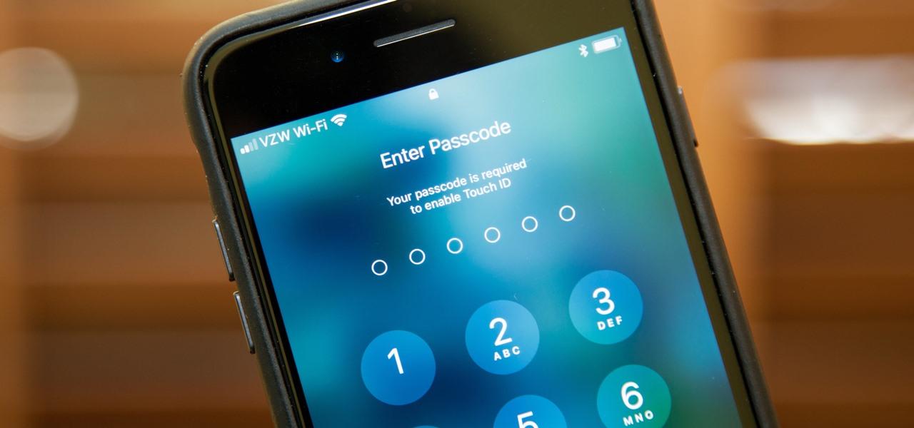 how do you unlock an iphone 6 plus passcode