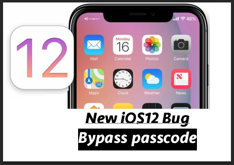 Bypass Passcode iOS 12 iphone bug iCloud Security and iOS