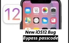 bypass passcode ios12 bug