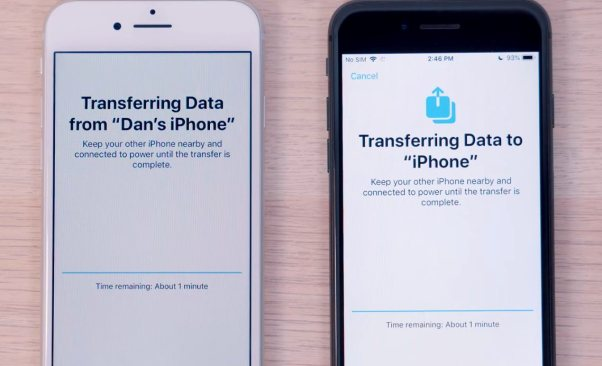 Wireless Data Transfer on iOS 12.4 NEW Features