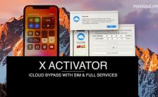 X Activator new iCloud Bypass lock service