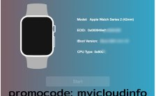 Apple Watch iCloud Unlock Tool S1, S2, S3 devices
