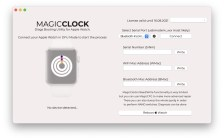 MagicClock and MAGICAWRT Adapter apple watch Restore Tool