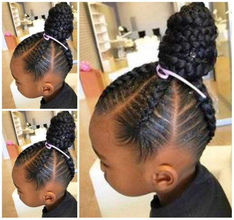 hairstyle for african american kids