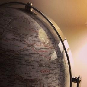 E's Birthday Globe