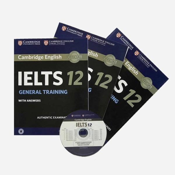 IELTS 12 general books with cd sri lanka