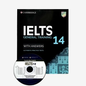 Cambridge IELTS 14 GEneral Training Book and CD