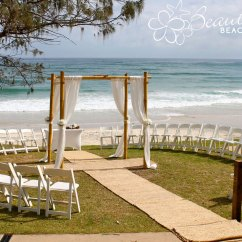 Beach Wedding Chair Decoration Ideas Folding High Uk Sunrise Party Rental Tent Chairs Tables