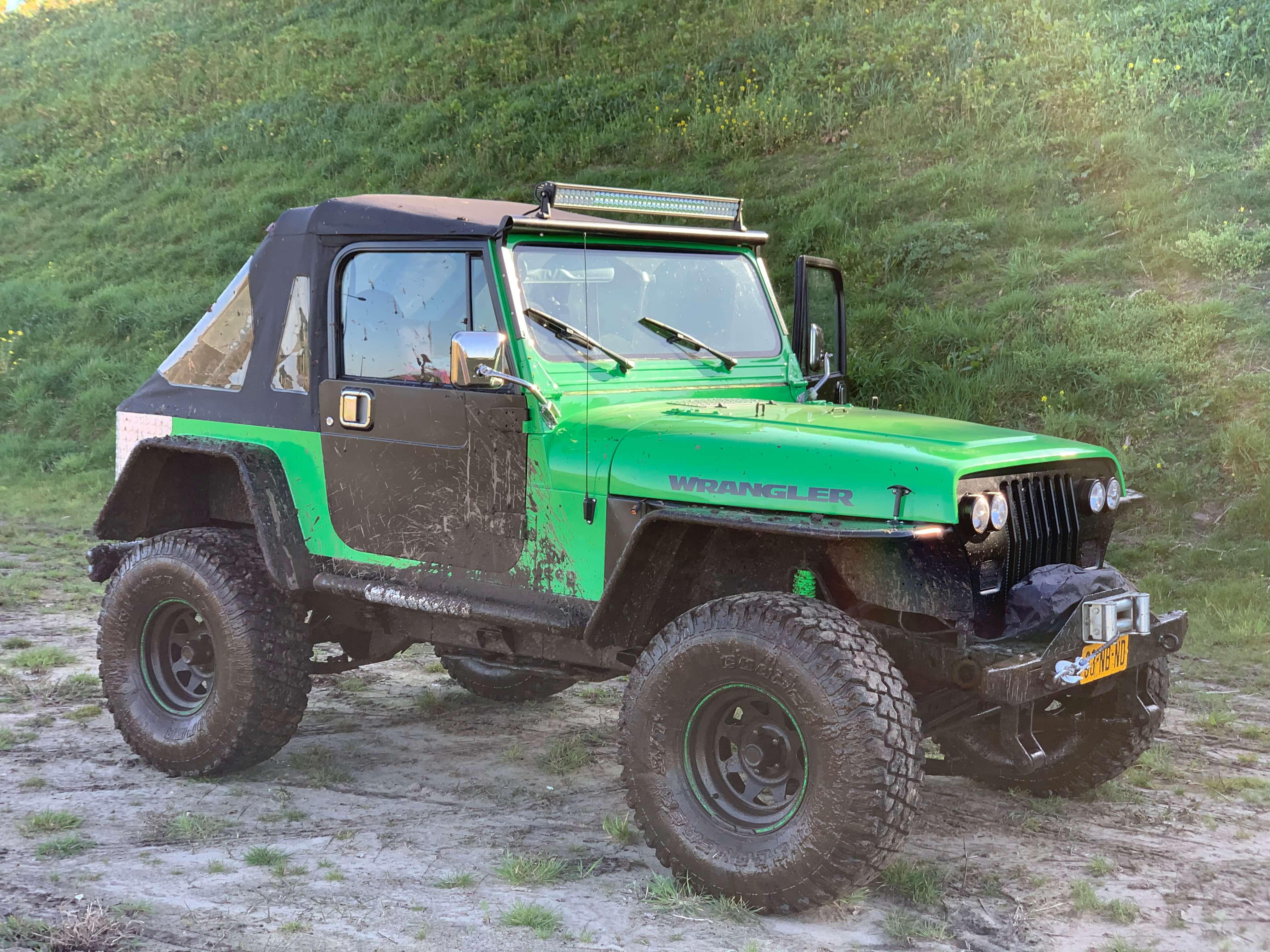 josh s 1990 jeep wrangler holley my
