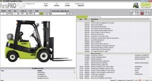 CLARK ForkLift Trucks PartsPro Plus v393 [112014] Multilanguage | Auto Repair Manual Forum