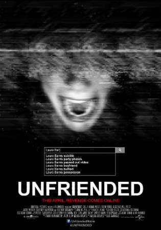 Unfriended 2014 BRRip 650MB Hindi Dual Audio 720p Watch Online Full Movie Download Worldfree4u 9xmovies