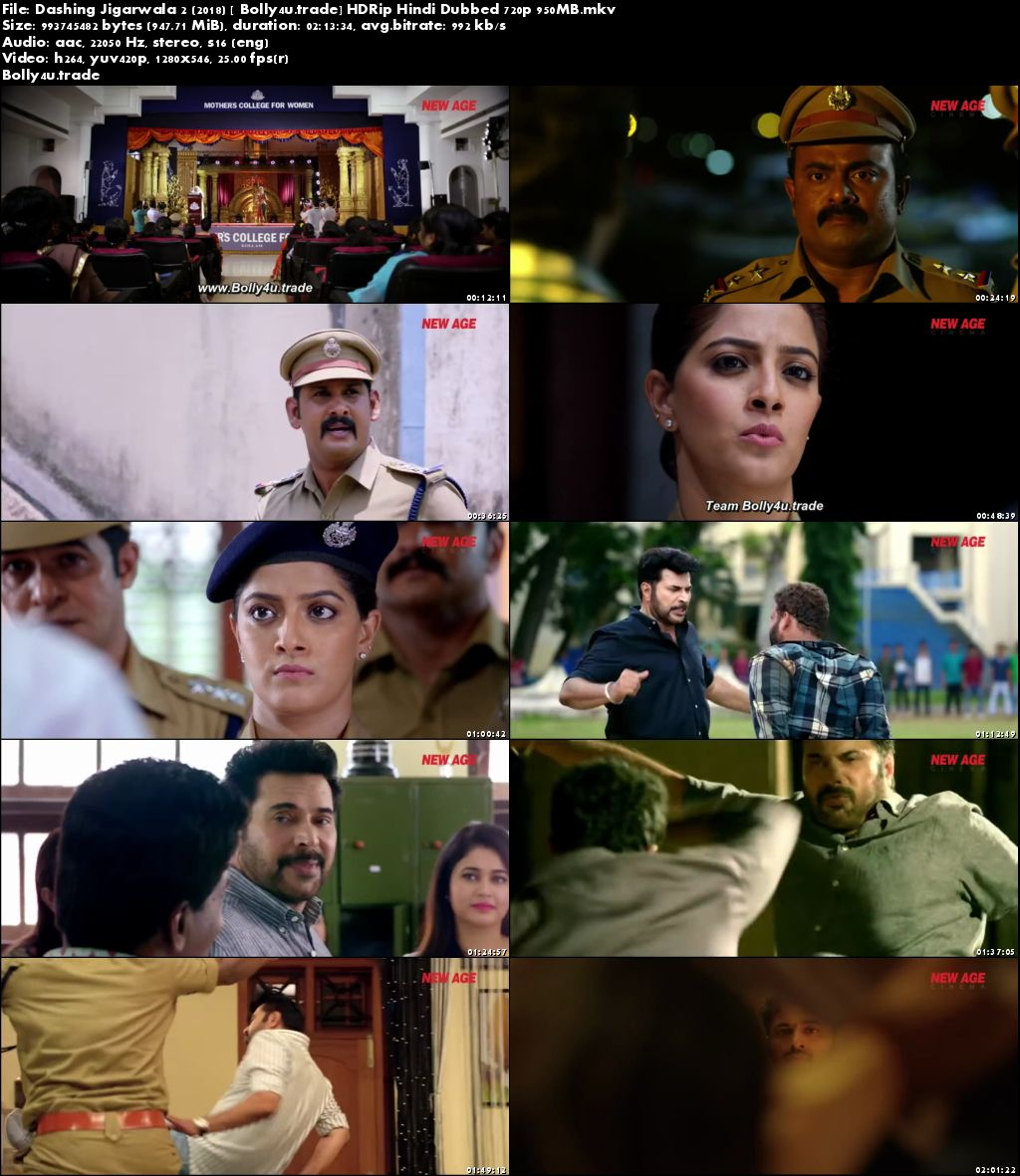 Dashing Jigarwala 2 2018 HDRip 350MB Hindi Dubbed 480p Download