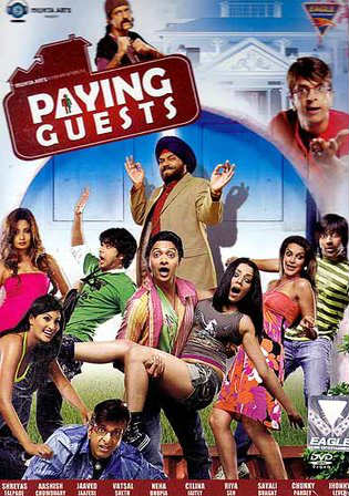 Paying Guests 2009 DTHRip 350Mb Full Hindi Movie Download 480p Watch Online Free Worldfree4u 9xmovies