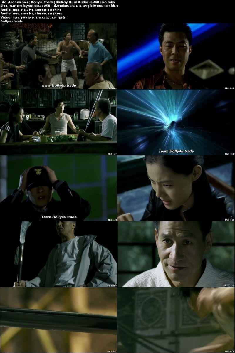 Arahan 2004 BluRay 350Mb Full Hindi Dual Audio Movie Download 480p