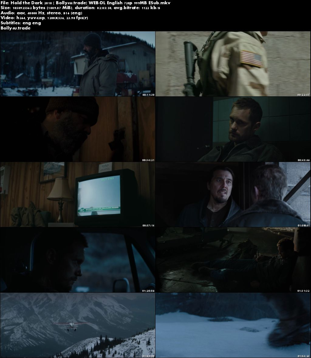 Hold the Dark 2018 WEB-DL 999Mb Full English Movie Download 720p ESub