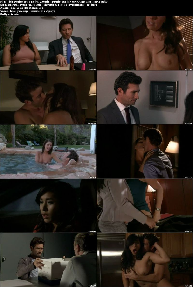 [18+] Illicit Desire 2017 HDRip 300MB English UNRATED 480p Download