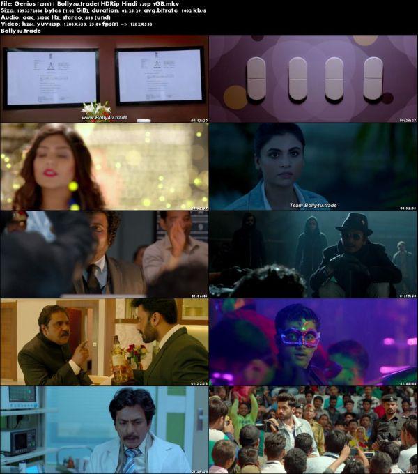 Genius 2018 HDRip 400Mb 480p Full Hindi Movie Download