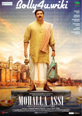 Mohalla Assi 2018 HDRip 850Mb Full Hindi Movie Download 720p Watch Online Free Bolly4u