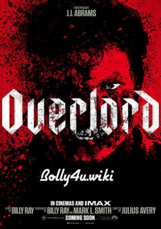 Overlord 2018 WEB-DL 300MB English 480p ESub Watch Online Full Movie Download bolly4u