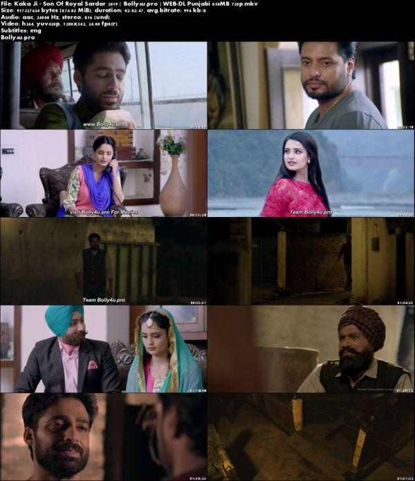 Kaka Ji Son Of Royal Sardar 2019 WEB-DL 350MB Punjabi 480p Download