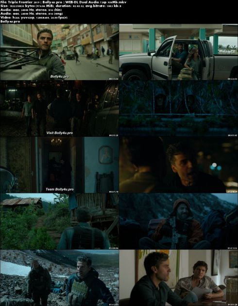 Triple Frontier 2019 WEB-DL 950Mb Hindi Dual Audio 720p Download