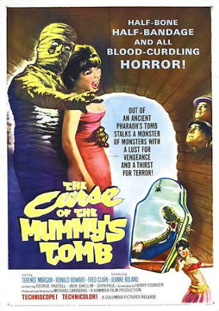 The Curse Of The Mummys Tomb 1964 BRRip 600Mb Hindi Dual Audio 720p Watch Online Full Movie Download bolly4u