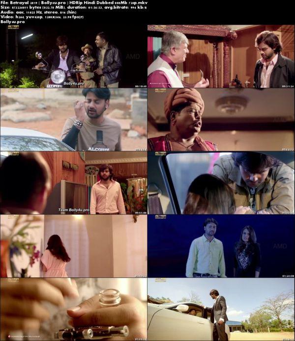 Betrayal 2019 HDRip 350MB Hindi Dubbed 480p download