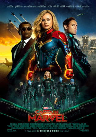 Captain Marvel 2019 HDTS 850MB Hindi Dual Audio 720p Watch Online Free Download bolly4u