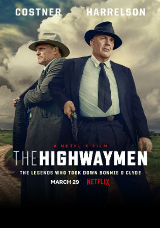 The Highwaymen 2019 WEB-DL 350MB English 480p ESub Watch Online Full Movie Download bolly4u