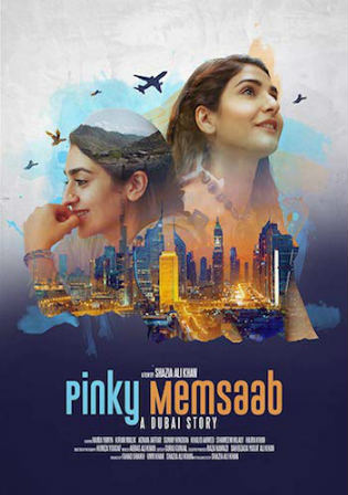 Pinky Memsaab 2018 WEBRip 350MB Urdu 480p Watch Online Full Movie Download bolly4u