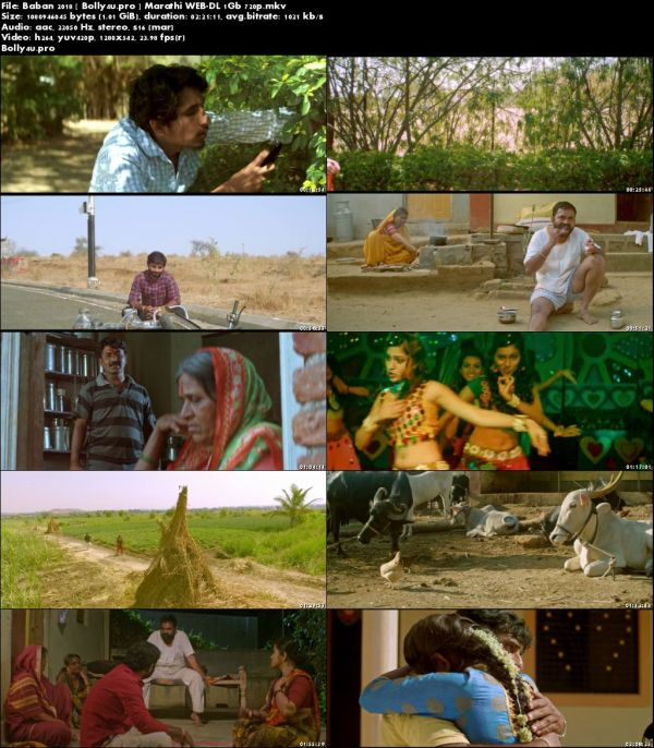 Baban 2018 WEB-DL 400MB Marathi 480p Download