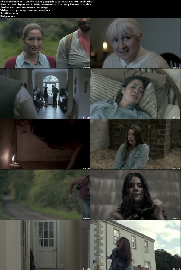 Matriarch 2019 WEB-DL 750MB English 720p ESub Download