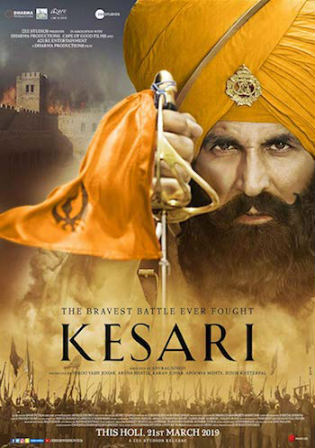 Kesari 2019 HDRip 1GB Full Hindi Movie Download 720p Watch Online Free bolly4u