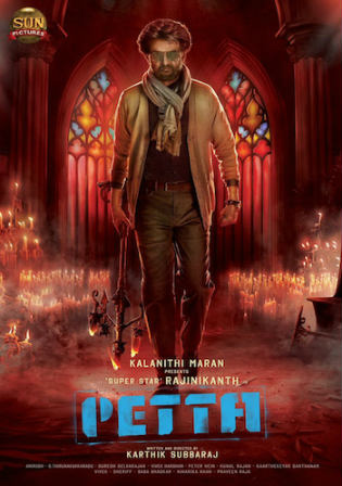 Petta 2019 HDRip 1.1GB ORG Hindi 720p ESub Watch Online Full Movie Download bolly4u