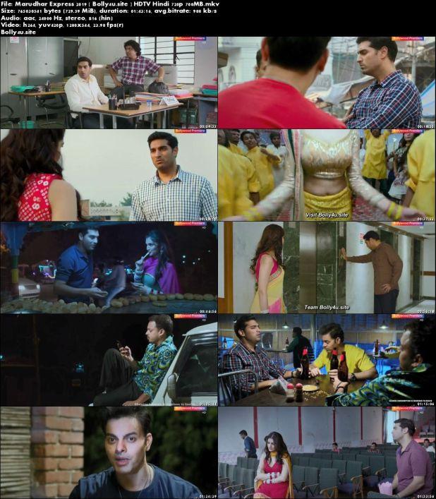Marudhar Express 2019 HDTV 700MB Hindi 720p Download