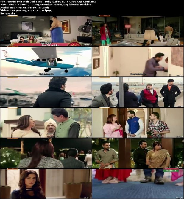 Jawani Phir Nahi Ani 2 2018 SDTV 1.1GB Urdu 720p Download