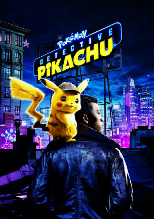Pokémon Detective Pikachu 2019 HDRip 300MB Hindi Dual Audio 480p Watch Online Full Movie Download bolly4u
