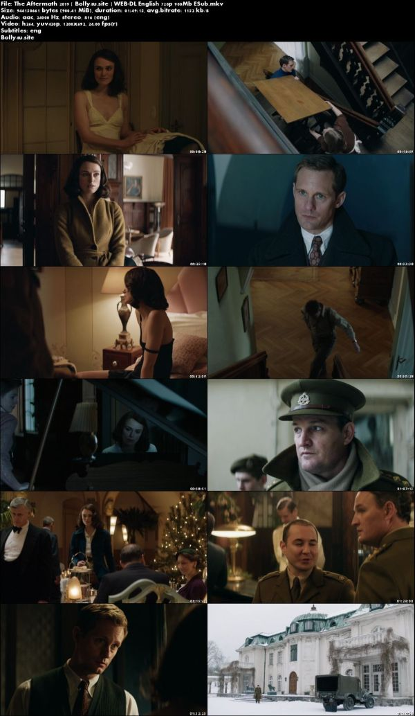 The Aftermath 2019 WEB-DL 300MB English 480p ESub download