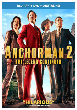 Anchorman 2 The Legend Continues 2013 BRRip 1.1GB Hindi Dual Audio 720p Watch Online Full Movie Download Bolly4u