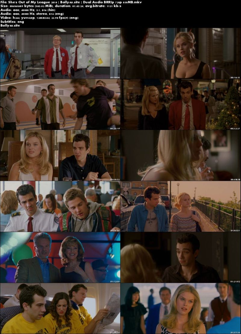 Shes Out of My League 2010 BRRip 850MB Hindi Dual Audio 720p Download