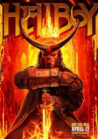 Hellboy 2019 WEB-DL 950MB English 720p ESub Watch online Full Movie Download bolly4u
