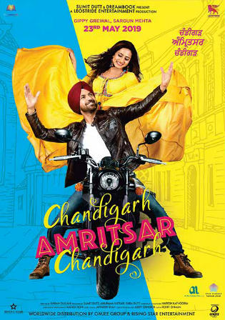 Chandigarh Amritsar Chandigarh 2019 WEB-DL 750MB Punjabi 720p Watch Online Full Movie Download bolly4u