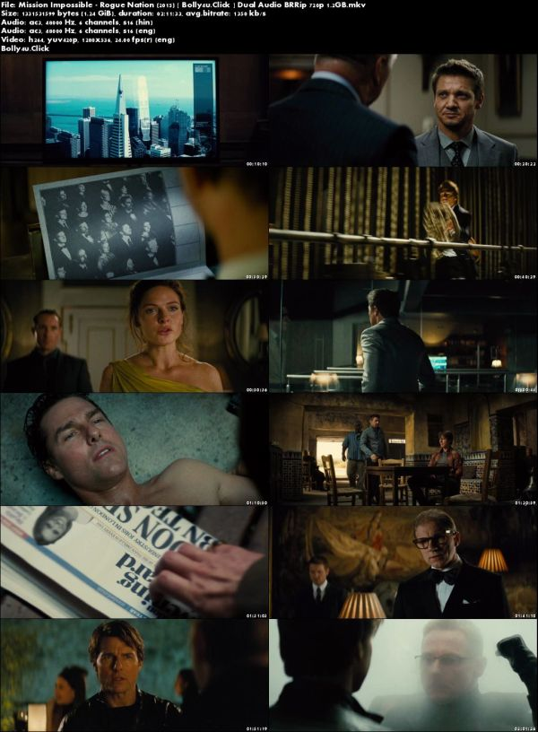 Mission Impossible Rogue Nation 2015 BRRip Hindi Dual Audio ORG 720p Download