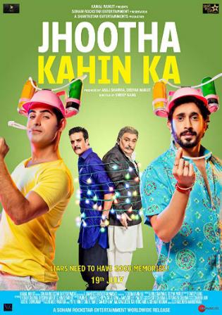 Jhootha Kahin Ka 2019 Pre DVDRip 700MB Hindi x264 Watch Online Free Download bolly4u