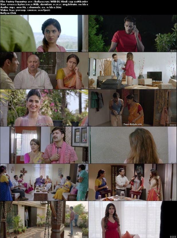Fastey Fasaatey 2019 WEB-DL 850Mb Full Hindi Movie Download 720p
