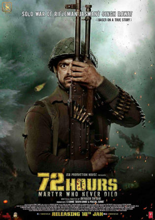 72 Hours Martyr Who Never Died 2019 WEB-DL 400MB Hindi 480p Watch Online Full Movie Download bolly4u