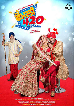Family 420 Once Again 2019 HDRip 850Mb Punjabi 720p Watch Online Full Movie Download bolly4u