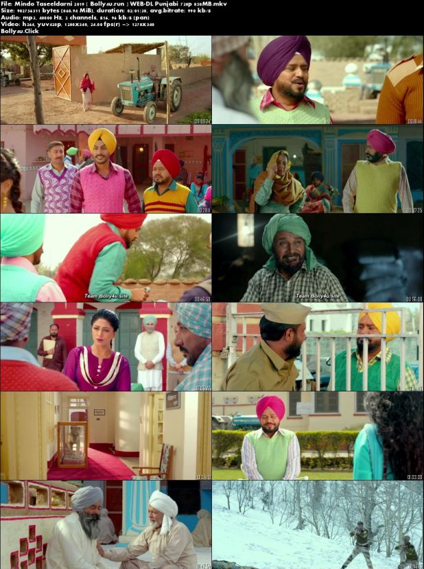 Mindo Taseeldarni 2019 WEB-DL 300Mb Punjabi 480p Download