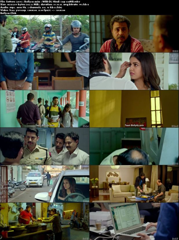 Setters 2019 WEB-DL 850Mb Full Hindi Movie Download 720p