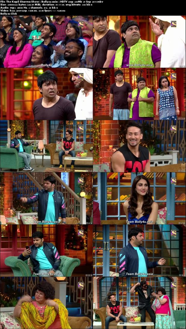 The Kapil Sharma Show HDTV 480p 250Mb 29 September 2019 Download